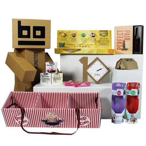 Monsterbox - Packaging designers and sample makers